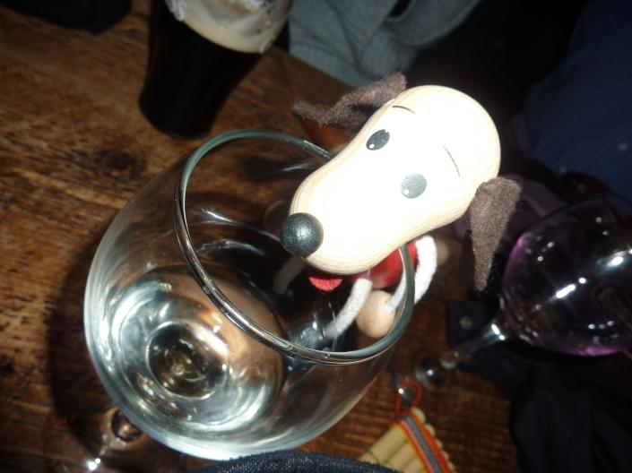 Pepe likes white wine