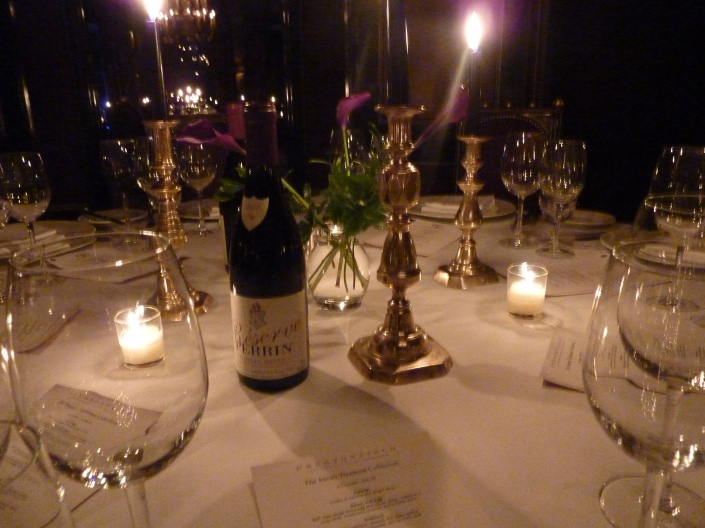 Dinner at Prestonfield House Hotel - Table