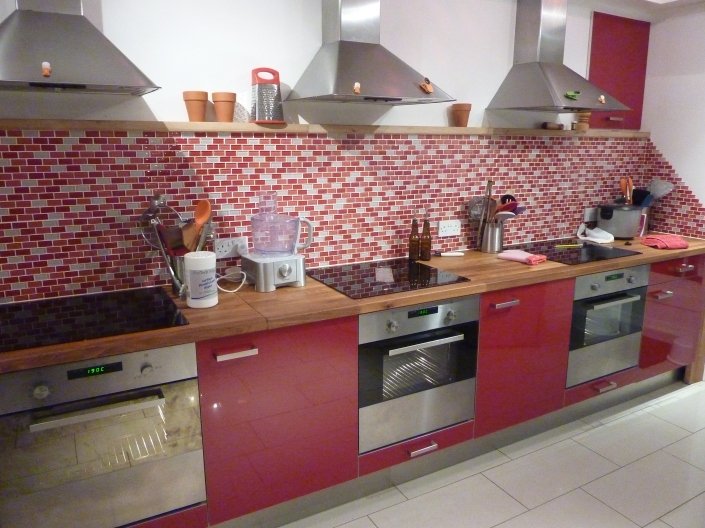 Cooking Mania's lovely kitchens